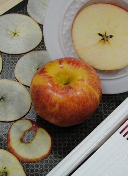 Нарезка яблок для чипсов