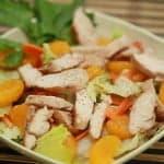 Салат Запах мандаринов с куриным филе