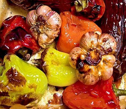 обжаренные в сотейнике овощи