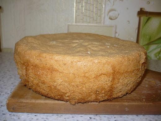 Испеченный бисквит