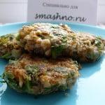 Готовые постные котлеты из гречки с грибами