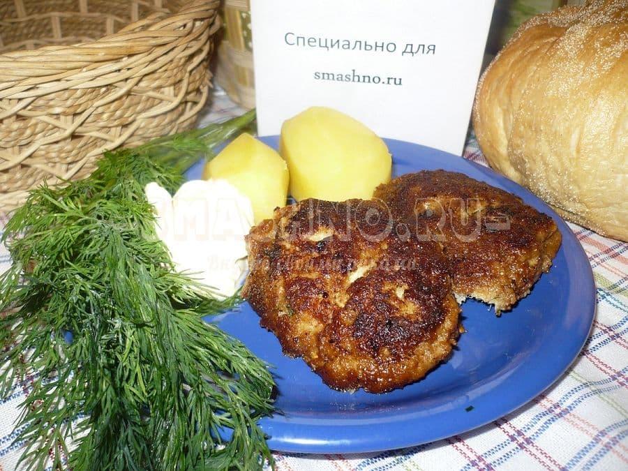 Котлеты по-киевски из рыбы