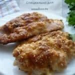 Курица в кунжуте