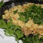 Пряный рис с фаршем