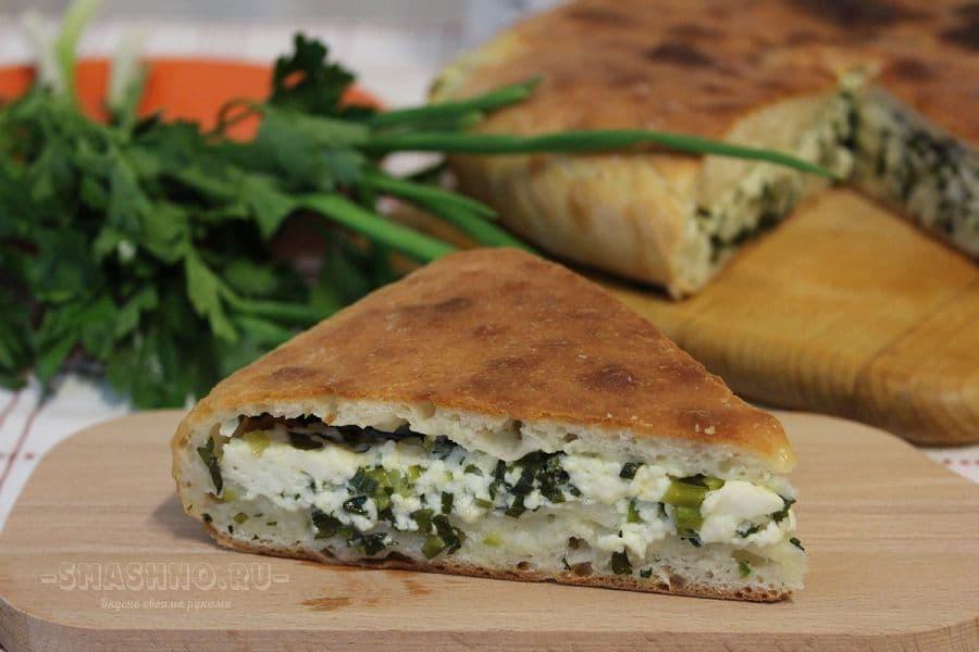 Кусок осетинского пирога