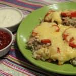 Запеканка с гречкой, капустой и курицей