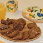 Пирожное картошка из печенья с орехами и медом