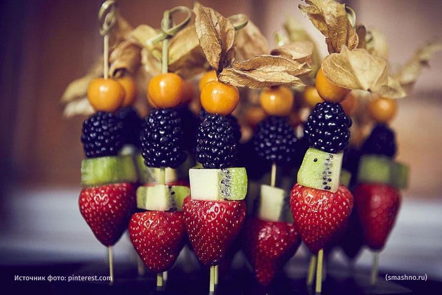 Как подать фрукты на стол красиво