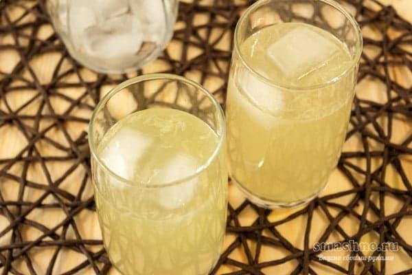 Лимонад из лимона, лайма и мяты