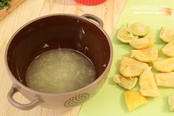 Сок лайма и лимона