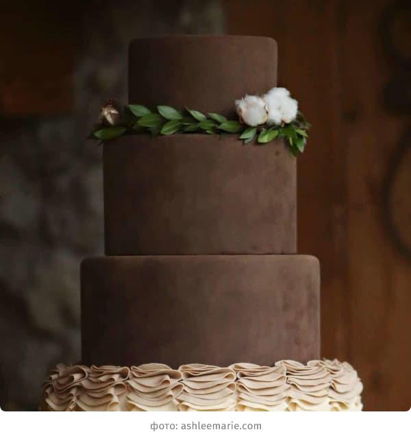 Шоколадный бархатный торт