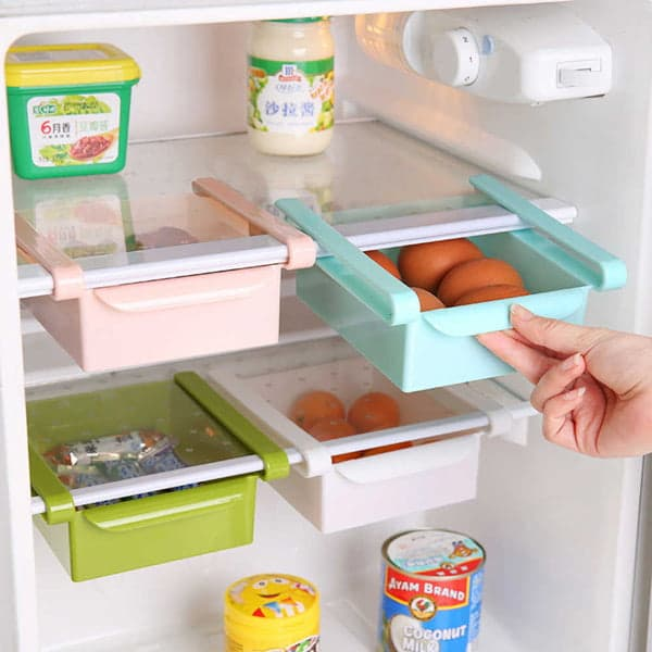 Выдвижной контейнер в холодильнике с AliExpress