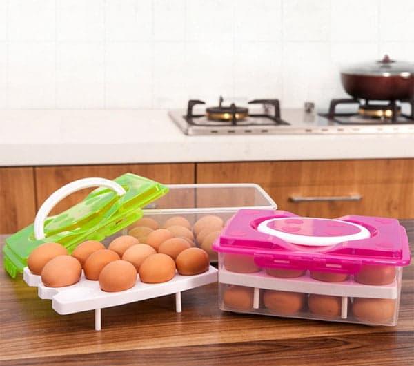 Боксы с Алиэкспресс для хранения яиц