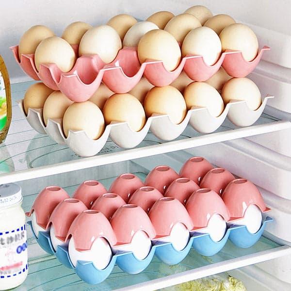 Пластиковая решётка с Алиэкспресс для хранения яиц