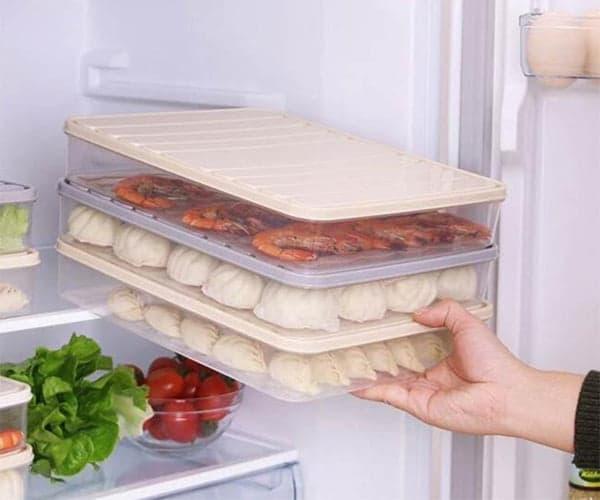 Плоские контейнеры с Алиэкспресс для хранения в холодильнике