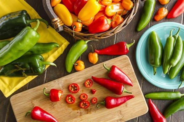 Разные виды овощного перца